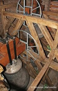 Neukonstruierter Glockenstuhl der Stadtkirche St. Marien zu Celle