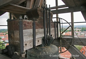 Halberstädter Dom - Joch mit historischem und neuem Holzbestand