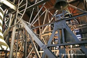 Stahlglockenstuhl der Marktkirche Hannover