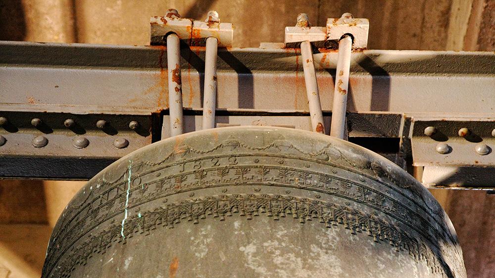 Schulterfries der 1822 von Alexius Petit gegossenen Glocke für St. Georg zu Vreden