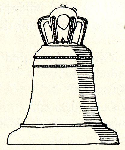 Glocke der Kirche Dedesdorf - Anfang des 14. Jahrhunderts gegossen