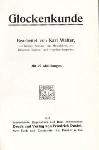 Karl Walter - Glockenkunde