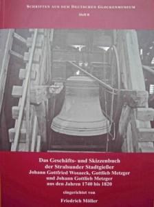 Geschäfts- und Skizzenbuch der Stralsunder Stadtgießer