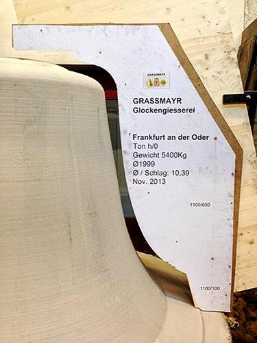 Form der Osanna Mit freundlicher Veröffentlichungsgenehmigung der Glockengießerei Grassmayr