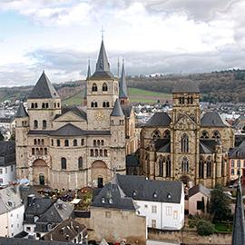 Trierer Dom mit Liebfrauenkirche (Foto: S. Wamsiedler)