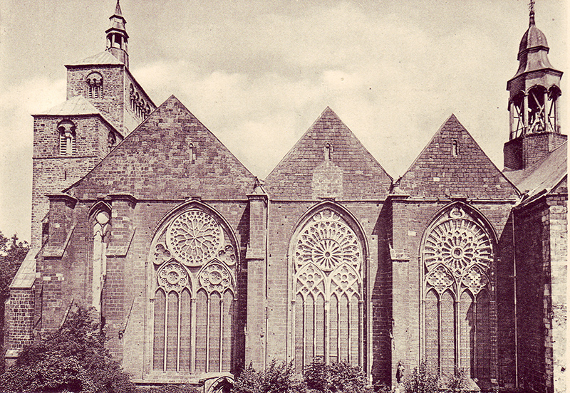 Der Mindener Dom im Jahre 1895 (Foto gemeinfrei).