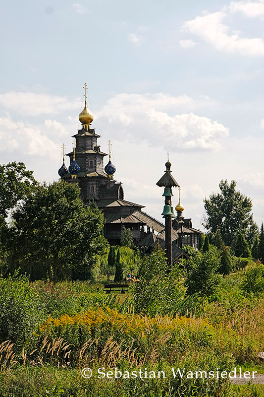 Russisch-orthodoxe-Holzkirche in Gifhorn