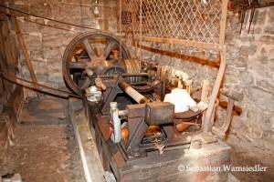 Funktionstüchtige Läutemaschine aus dem Jahre 1913