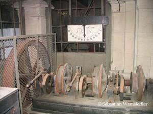 Läutemaschine des Kölnder Domes aus dem Jahre 1909 - nicht mehr in Funktion