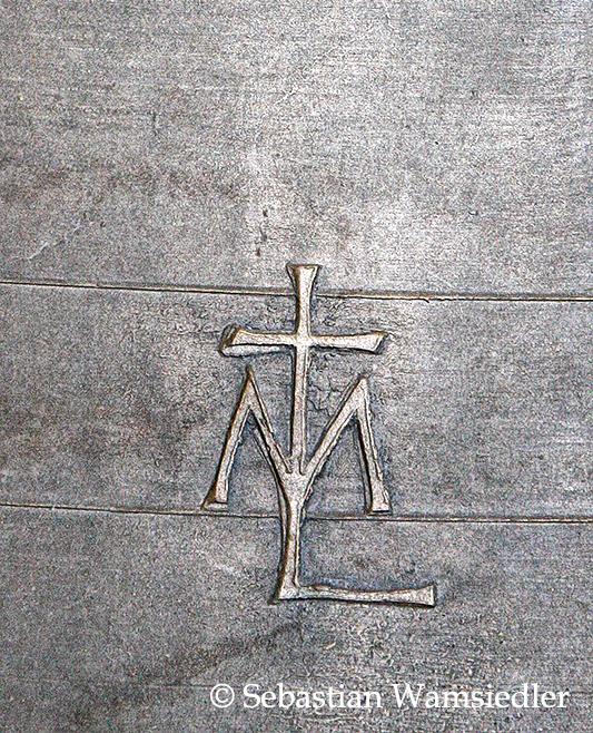 Gießerzeichen der Glockengießerei Maria Laach