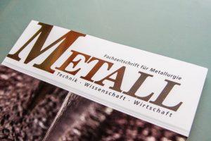 Fachzeitschrift für Metallurgie METALL