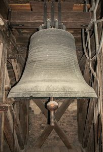 Glockenjubilarin: 1716 von Christian Ludwig Meyer gegossene Glocke