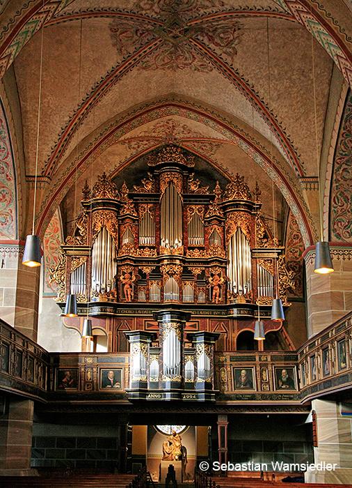 Barockorgel der St. Vincenz-Kirche zu Schöningen