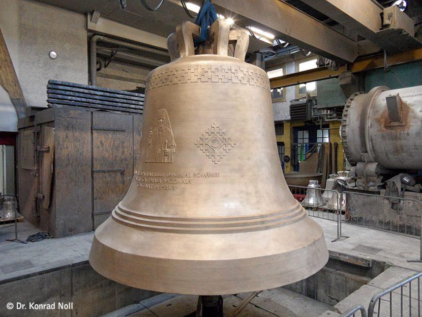 Größte Freischwingende Glocke Der Welt
